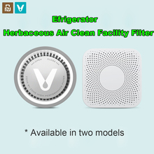 Youpin VIOMI VF 2CB 스퀘어 화이트 주방 냉장고 공기 청정기 가정용 오존 살균 Deodor 장치 Flavor Filter Core