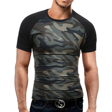 Mens Military Army T Shirt Camouflage Men Star Loose Cotton T-Shirts O-neck Casual Short Sleeve Tshirts Classic Tees Male Summer