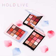 Hold Live 12 Color School Eyeshadow Palette Makeup Creamy Glitter Shine Eye Shadow Silky Powder Warm Smoky Nude