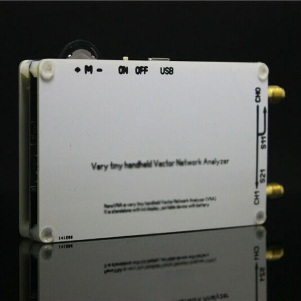 Antenne d'analyseur de réseau de vecteur UV + logiciel PC nouveaux Kits d'outils de pièce de NanoVNA VNA HF VHF UHF