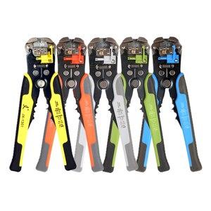 Image 1 - JX1301 Cable Wire Stripper Cutter Crimper Automatico Multifunzionale Stripping Tools Pinze di Piegatura Terminale di 0.2 6.0mm strumento mano