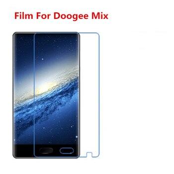1/2/5/10 Uds. Película protectora de pantalla LCD Ultra delgada HD transparente con película de paño de limpieza para Doogee Mix.