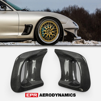 Car Accessories For Mazda RX 7 FD3S Carbon Fiber RE Style Fender Big Outlet Duct RX7 Wheel Air Vent Body Kit Racing Garnish Trim