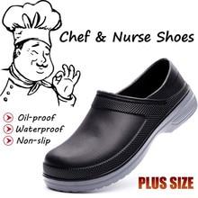 Work-Shoes Chef Atrego Garden-Safety-Work Kitchen Restaurant Nursing Non-Slip-Light Waterproof