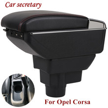 For Opel Corsa Armrest Box D Universal Car Central Storage cup holder ashtray modification accessories
