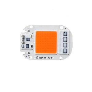 Image 1 - Chip de luz Led para cultivo hidropónico, espectro completo de 380nm ~ 780nm, para invernadero, bricolaje, 20W, 30W, 50W, 230V, 1 Uds.