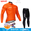 Inverno velo térmico 2020 strava ciclismo jérsei longo conjunto mtb roupas de ciclo roupas esportivas mountain bike ropa ciclismo 22