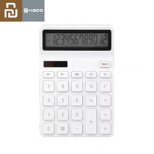 New Youpin  LEMO Desktop Calculator Photoelectric Dual Dive 12 Number Display Automatic Shutdown For Office Finance Business