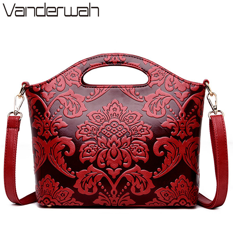Flower Ladies Small Hand Bags Sac A Main Femme Luxury Handbags Women Bags Deisgner Shoudler Crossbody Bags For Women 2018 Bolsa