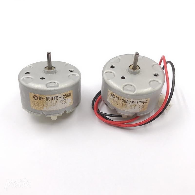 Оригинальные MABUCHI RF-500TB-12560 DC Мотор щетки драгоценного металла 3V-12V 5500 об/мин, маленького размера, круглой формы с диаметром 32 мм Диаметр кругл...