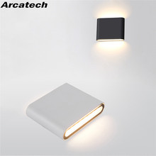 Modern Led Waterproof Outdoor Up Down  Wall Lamp IP65 Aluminum 6W/12W LED Wall Light Indoor Decorated Wall Sconce NR-159