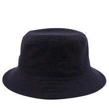 Artı boyutu balıkçı şapka erkek yaz pamuk güneş şapkası büyük kafa adam büyük boyut kova şapkalar 55 59cm 60 63cm