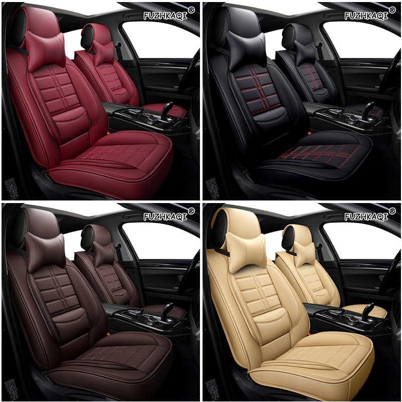 Auto PU Kulit Penutup Kursi Mobil untuk Kia Mohave Lexus RX330 RX Emgrand EC7 Dodge Ram 1500 Chevrolet Trailblazer Mobil bantal Kursi
