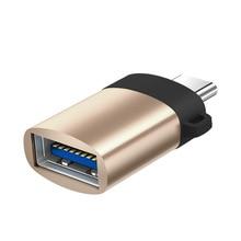 Переходник с Type-C на USB 3,0 OTG для Samsung, LG, Huawei, Xiaomi