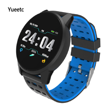 Get more info on the Bluetooth Smart Watch Sports Heart Rate Blood Pressure monitor Bracelet waterproof activity fitness tracker Smart Band wristband