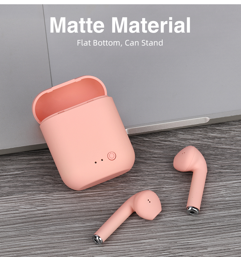 Mini-2 TWS Wireless Headphones Bluetooth 5.0 Earphone Macaron Earbuds Sport Headset Handsfree with Charging Box Mic PK i9s TWS