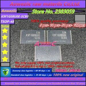 Image 1 - Aoweziic 100% nuevo original K9F1G08U0E SCB0 K9F1G08UOE SCBO K9F1G08U0E TSOP48 chip de memoria (suministro del producto original)