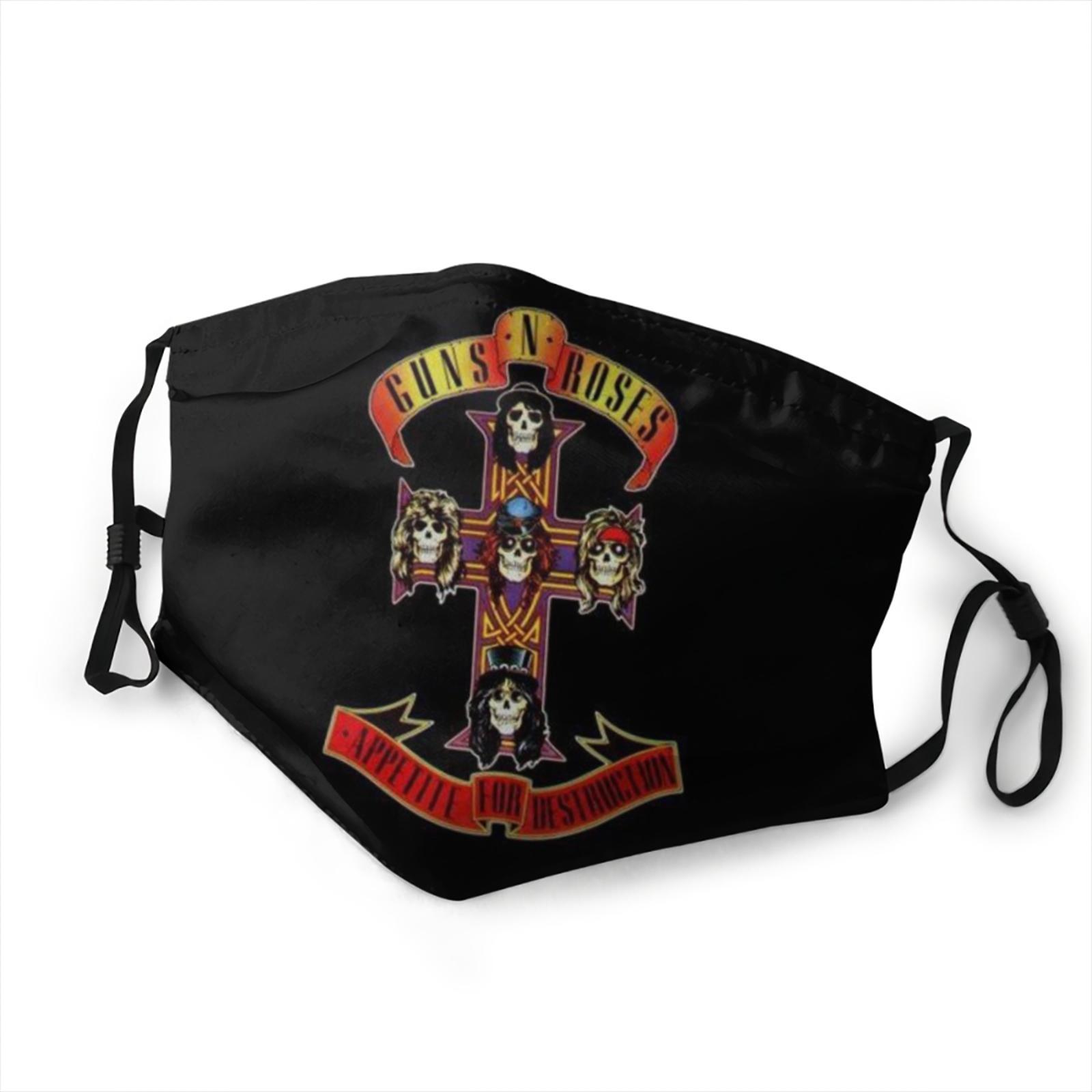 Masque Guns N'Roses en tissu lavable Créer Son T Shirt