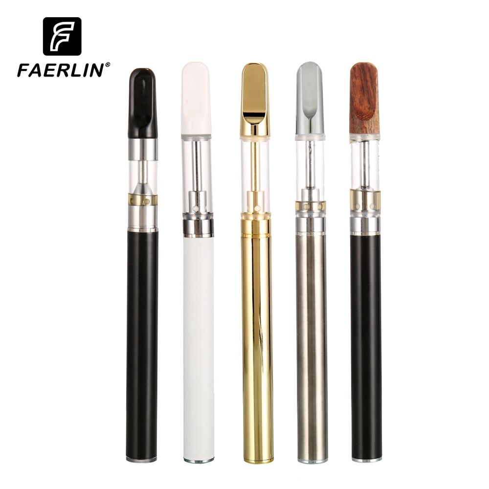 Original Faerlin CBD Vape Pen E-Cigarette 350mah Battery Ceramic Coil Mod CBD Oil Rta Cartridge Air Switch Vaporizer Vapes Kit