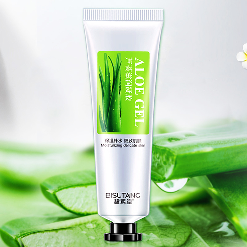 30ml Face Cream Aloe Soothing Gel Aloe Vera Gel Skin Care Remove Acne Moisturizing Day Cream After Sun Lotions Aloe Gel
