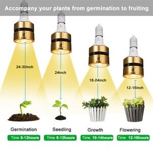 Image 5 - LED Grow Light Bulb Full Spectrum 120W 150W 300W Sunlike COB LED Plant Grow Lamp for Indoor Plant Greenhouse Veg Bloom Flowering