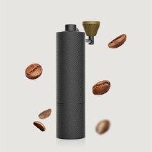 1pc Timemore 슬림 새로운 알루미늄 휴대용 철강 연 삭 코어 고품질 핸들 디자인 슈퍼 수동 커피 밀 Dulex 베어링