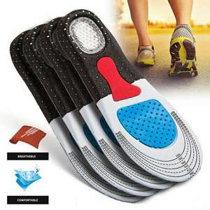 Cushion Arch-Support Running-Insoles Orthotic Gel Shoe-Pad Insert Heel 1PAIR Men