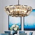 LED E14 постмодерн скандинавский Железный Кристалл Светодиодная лампа LED свет. Подвесные светильники. Подвесной светильник. Подвесной светиль...
