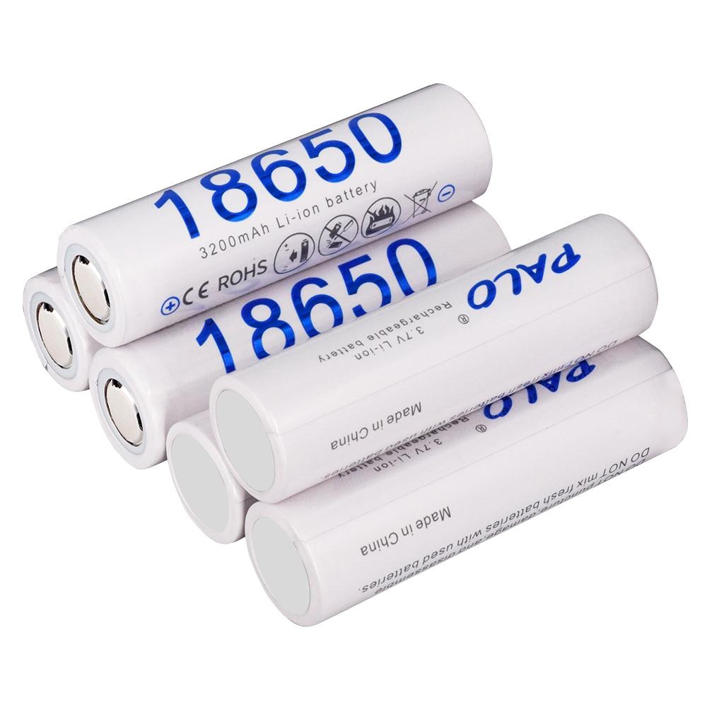 Купить palo 18650 батарея 100% новая оригинальная 37 v 3200mah литий