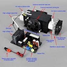 Ce fcc rohs patenteado produto 10 g/h 10 gramas kit gerador de ozônio ajustável esterilizador de ar água vegetal e fruta purificador