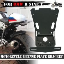Motorcycle Tail Mount License Plate Bracket Holder For BMW R NINE T NINET 9T Racer Scramble urban R9T 2014 2019