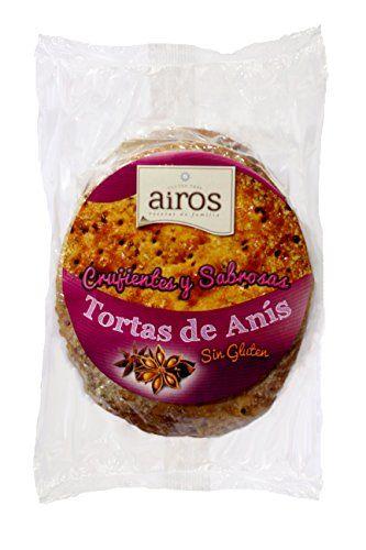 TORTAS DE ANIS SIN GLUTEN AIROS