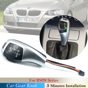 LED Gear Shift Knob Shifter Lever For BMW 1 3 5 6 Series E90 E60 E46 85 E86 E39 E53 E92 E87 E93 E83 X3 E89 Automatic Accessories