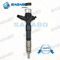Inyector comum novo original 23670 09060 do trilho do injetor de combustível para toyota hilux d4d 2kd-ftv 23670-09060