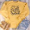 It is well with my soul sweatshirts women fashion quote slogan religion Christian Bible baptism church pure cotton pullover tops 1