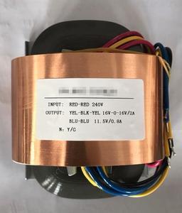 1 шт. 80 Вт (80VA) R-core аудио трансформатор 0-115 В * 2 на двойной 6 в 9 в 12 В 15 в 18 в 24 В и т. Д.