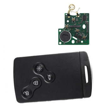Wilongda Auto key 4 button Smart Card key pcf7952 chip For Renault Koleos Scenic Laguna key