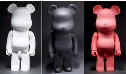 21 дюйм 52 см 700% Bearbrick Be @ rbrick DIY модная игрушка ПВХ фигурка Коллекционная модель игрушки украшения Рождественские подарки сувениры