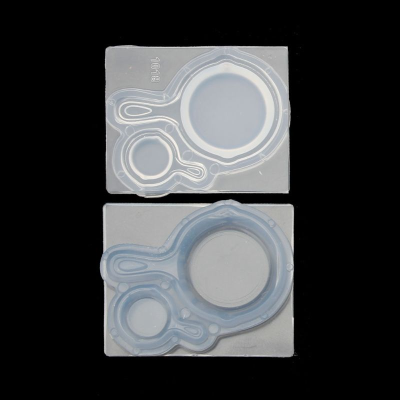 1 Set Mini Pan Pot Resin Silicone Mold Epoxy Resin Jewelry Tools Art Craft Tools