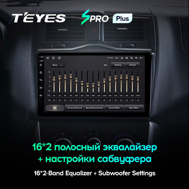 TEYES SPRO Plus Штатная магнитола For Лада ВАЗ Гранта Кросс For LADA Granta Cross 2018 - 2019 Android 10, до 8-ЯДЕР, до 4 + 64ГБ 32EQ + DSP 2DIN автомагнитола 2 DIN DVD GPS мультимедиа автомобиля головное устройство 3