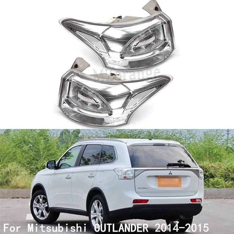 MZORANGE светодиодный задний фонарь для Mitsubishi OUTLANDER 2014 2015 Светодиодная лампа 2014 2015 для OUTLANDER задний фонарь автомобильные аксессуары