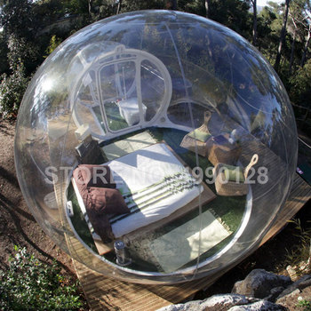 Free Shipping PVC Inflatable Bubble House 3M 4M 5M Dome Cabin Tree Tent Igloo for Camping Advertisement Outdoor Indoor free shipping 1 5m pvc inflatable mirror ball for sale
