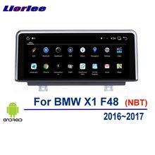Liorlee Xe Android Âm Thanh Đa Phương Tiện Nhạc Stereo Cho Xe BMW X1 F48 2016 2017 Phát Thanh Xe Hơi Hệ Thống Định Vị GPS HD màn Hình Hiển Thị
