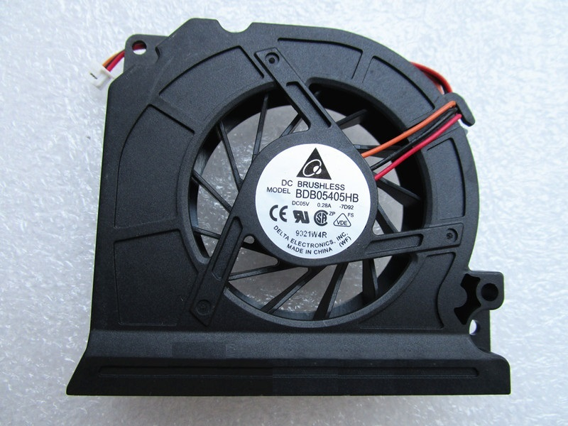 New CPU Cooler Radiator Fan For Samsung NP-R60 R60 Plus R60Y NP-R58 R58 P500 MCF-915BM05 BDB05405HB 7D92 5V 0.28A BA31-00051A