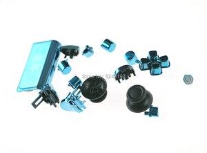 Image 4 - طقم أزرار كروم L1 R1 L2 R2 Thumbstick غطاء بديل لجهاز تحكم PS4 Pro لـ PS4 4.0 JDS 040 JDM 040 طقم أزرار