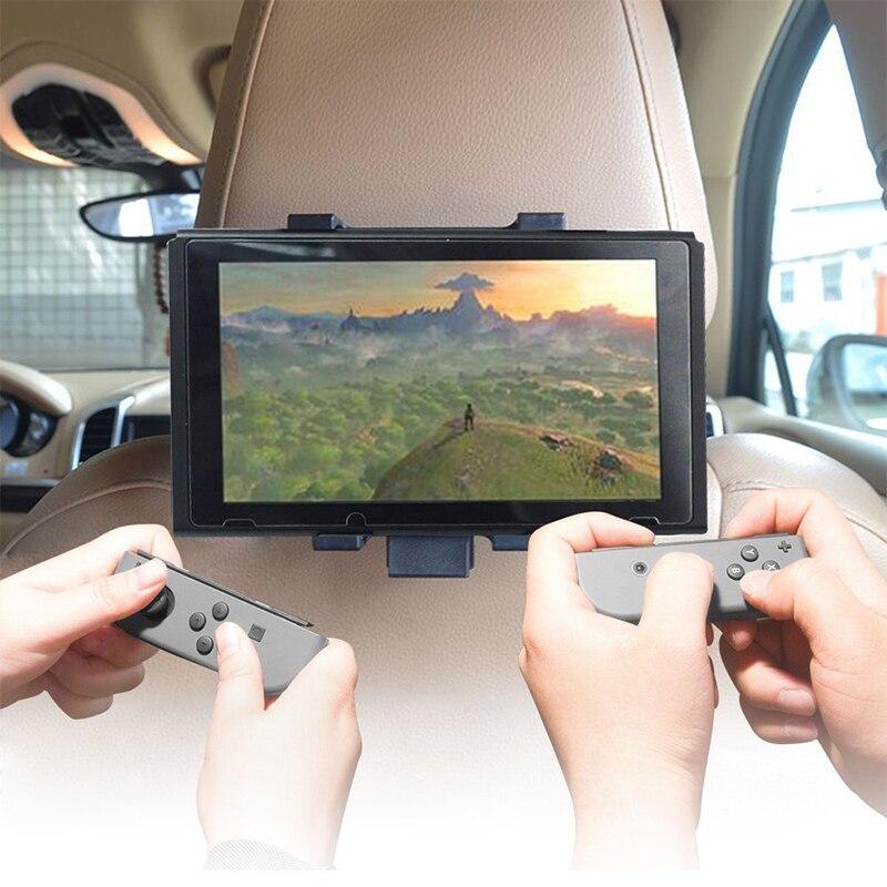 Car Holder Stand Headrest Mount Holder for Nintend Switch NS Console Adjustable Car Bracket Holder for Nintend Switch Console