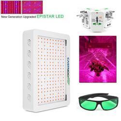 CASTNOO 500W 1000W pełnozakresowe led oświetlenie do uprawy dla roślin medycznych Veg kwiat Bloom & okulary i konwerter ładowania w Lampy do hodowli roślin od Lampy i oświetlenie na