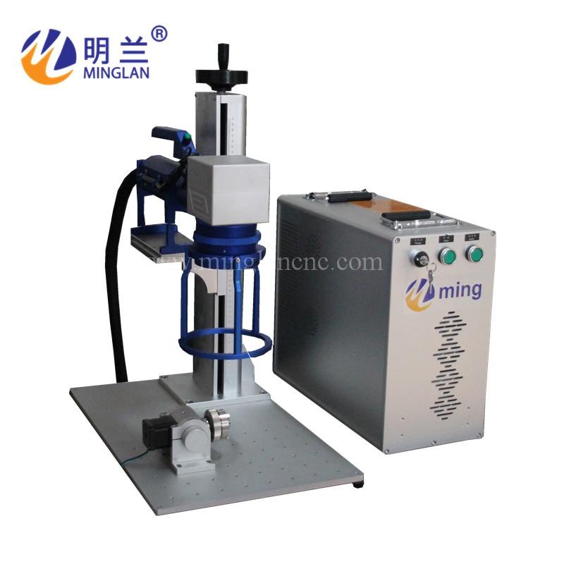 20W 30W 1064NM CNC Laser Engraver Fiber Laser Metal Marking Machine For Aluminum Gold Silver Brass