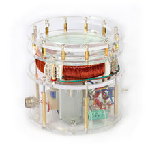 Мотор переменного тока в виде яйца столба Старка Тесла мотор