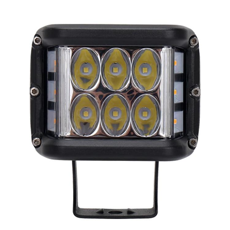 Cross-border Glow For Three Sides Burst Flashing LED Car Light 45 W 60 W Off-road Lights